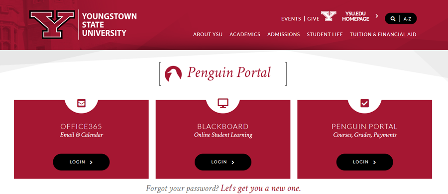 Penguin portal options